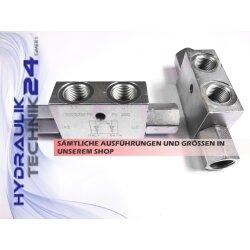 Entsperrbares doppelwirkendes Rückschlagventil Sperrventil VBPDE 3//8 A  V0180